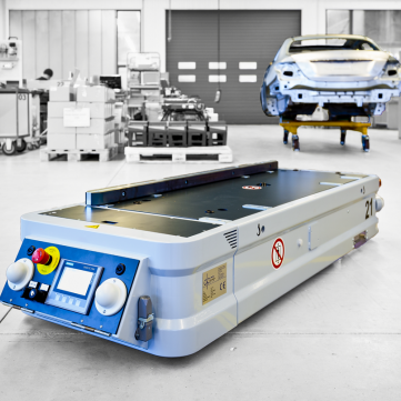 dpm Automated Guided Vehicle for logistics