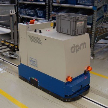 dpm traction cart AGV for logistics